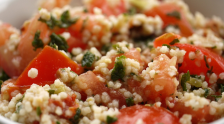 Bild von Couscous-Salat mit Tomate