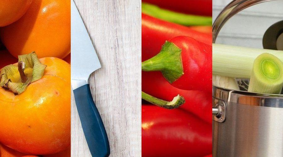 Zutaten und Küchengeräte zum salicylatarmen Kochen